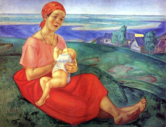 Как на Руси женщины рожали детей