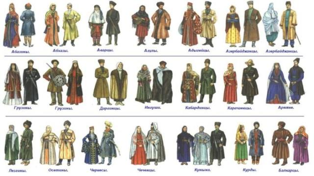 Сколько народов проживает на Северном Кавказе на самом деле