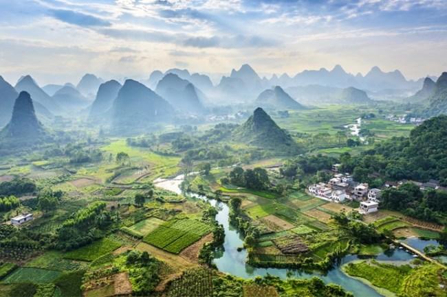 В Китае построят удивительный зеленый город из 40 тысяч деревьев