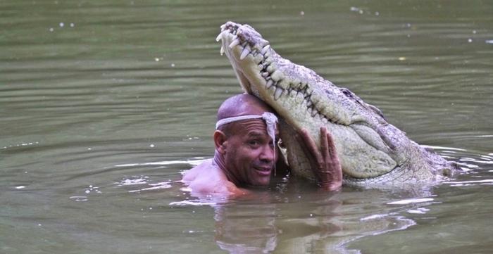Человек и крокодил— удивительная дружба