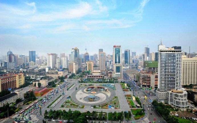 Суперсовременный Глобальный центр Китая