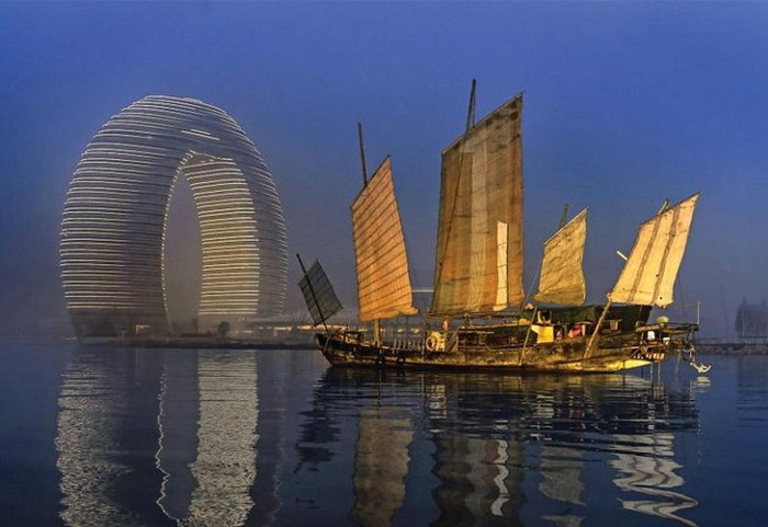 Самые круглые здания Китая