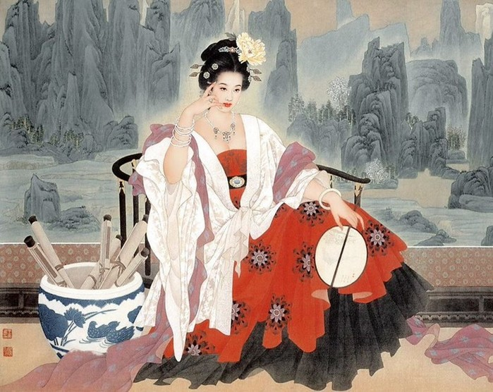 Красавицы древних времен и народов: исторические стандарты