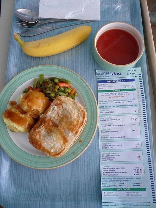 Обед обеду рознь. Чем кормят в больницах разных стран