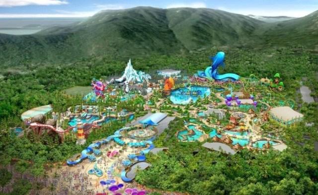 Парк развлечений Chimelong Paradise, Гуанчжоу