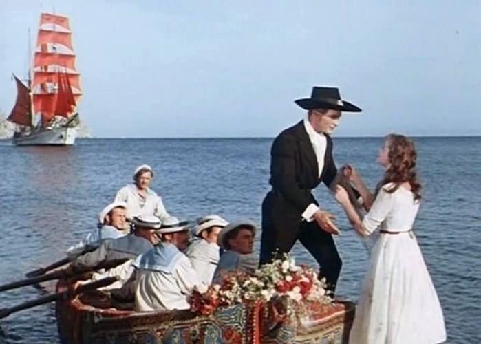 Как снимали фильм «Алые паруса»