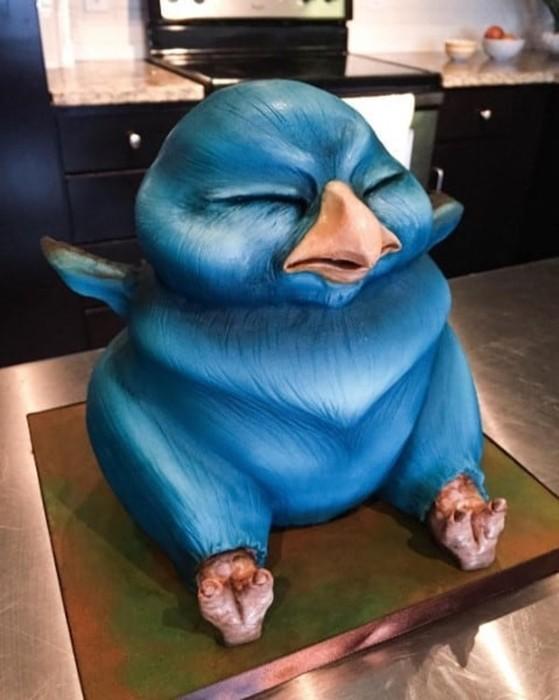 Очень странные реалистичные торты не для слабонервных