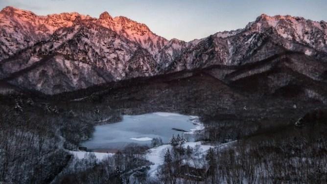 Невероятно красивая зима в Японии! Снежная сказка