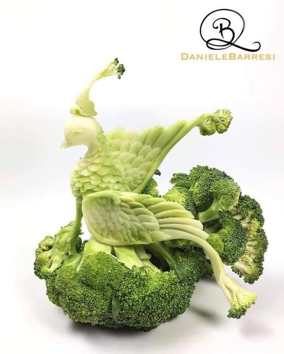 Съедобные шедевры от Даниэля Барреси