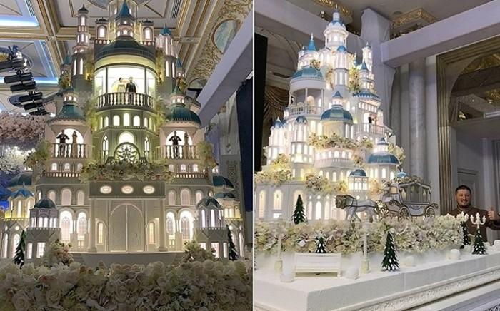Свадебный торт весом в 1,5 тонны— шедевр кулинарного искусства!
