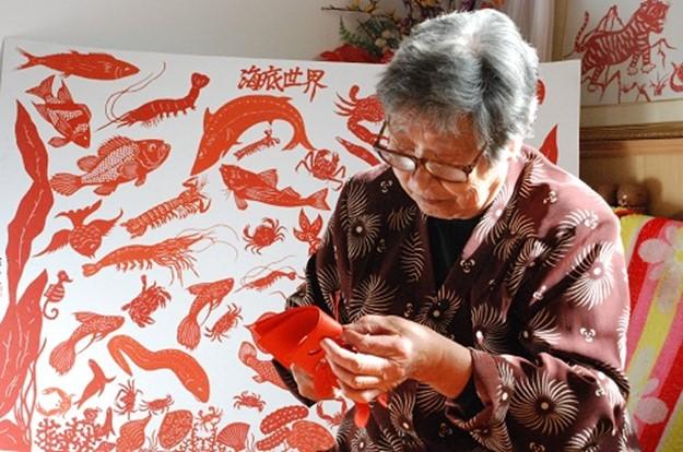 Древнее искусство вырезания из бумаги в Китае