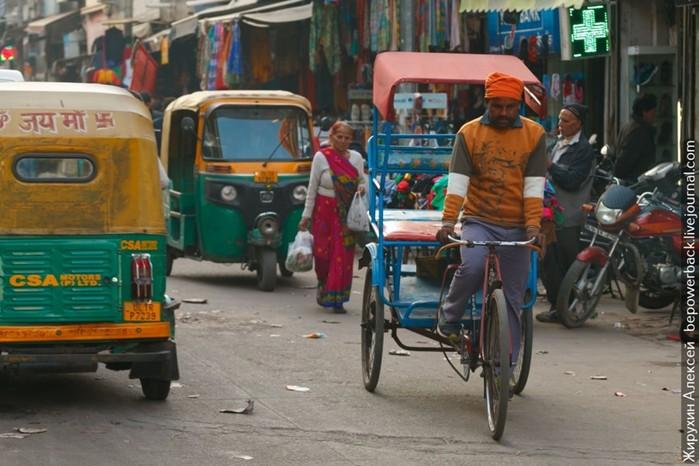 Как в Индии обманывают наивных туристов
