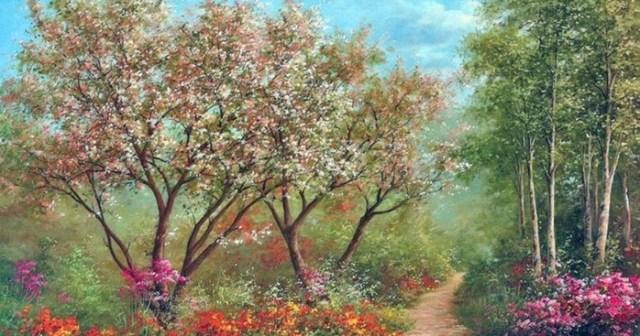 Красота романтического импрессионизма от художника Хайнца Шольнхаммера