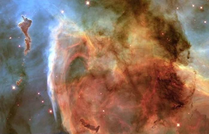 Как телескоп Хаббл сфотографировал Лицо Бога