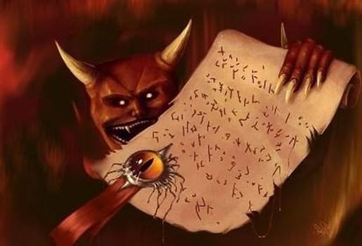 Кто из великих людей заключил сделку с дьяволом?