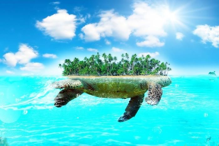 10 островов призраков, существовавших только на картах, но не в реальности