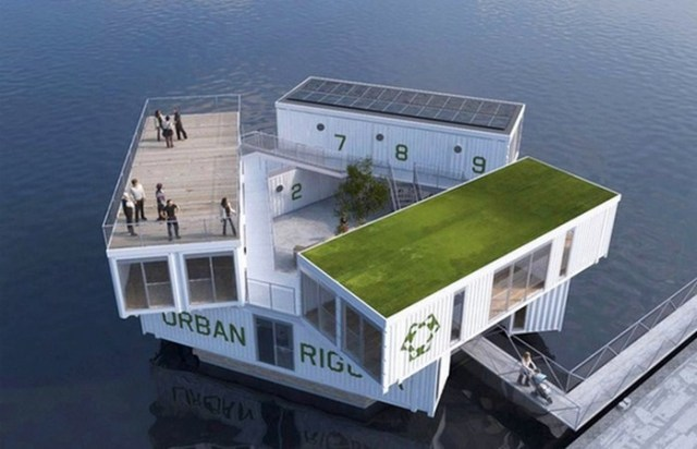 10 архитектурных проектов для переселения людей на воду в случае мирового потопа