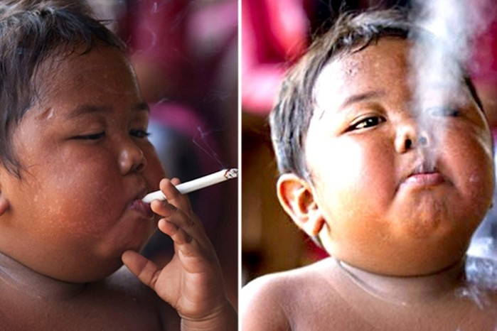 Мальчик, который выкуривал по 40 сигарет в день: что с ним произошло через 7 лет