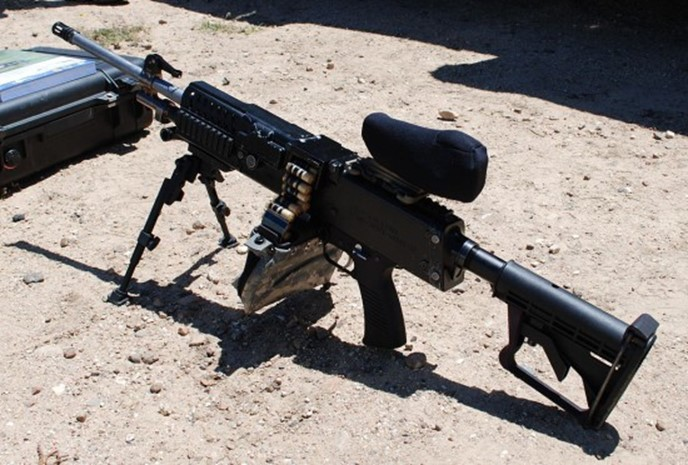 Новая штурмовая винтовка США LSAT получит «танковую» мощность