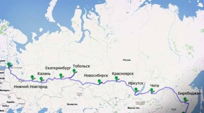 Длинные живописные железные дороги, по которым можно путешествовать неделями