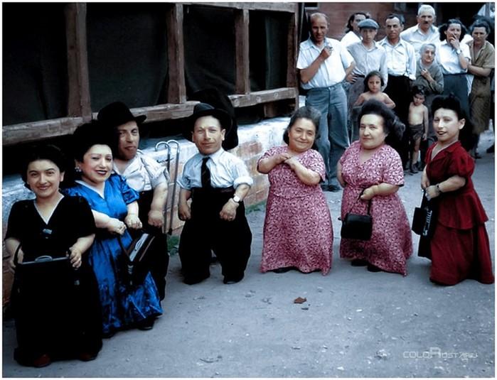 Трагическая история евреев карликов, переживших эксперименты нацистов: «Семь гномов Освенцима»