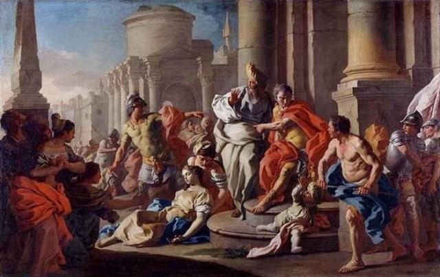 Легендарная Виргиния, убитая отцом в Древнем Риме, что стало причиной восстания