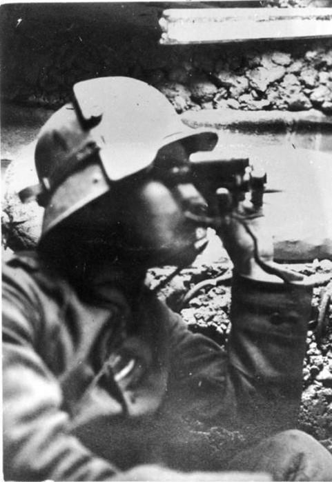 Для чего солдаты германской армии носили рогатые шлемы