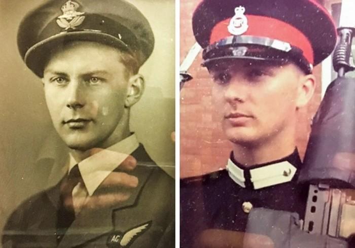Пользователи сети показывают фотографии, на которых они похожи на своих предков