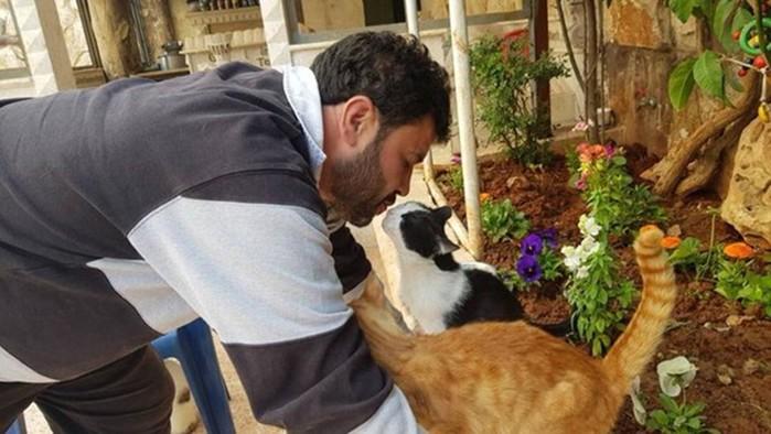 Мохаммед Джалил: человек, который заботится о брошенных в Алеппо животных