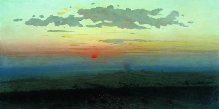 Архип Куинджи и его невероятные лунные ночи на картинах