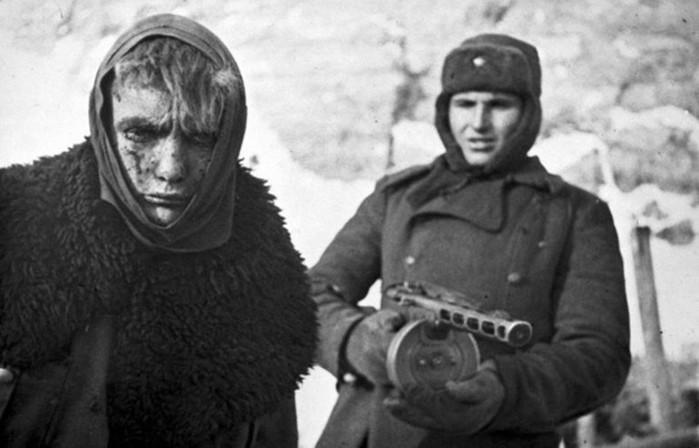 В каких преступления немцы обвиняли Красную Армию во время войны