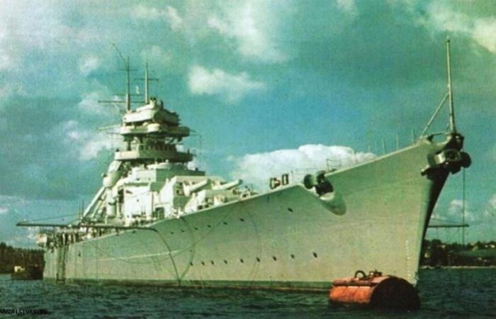 Как британский флот охотился за немецким линкором «Бисмарк»