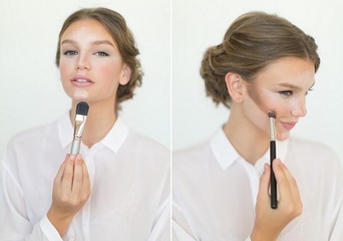 Какой макияж лучше, если у вас худое лицо