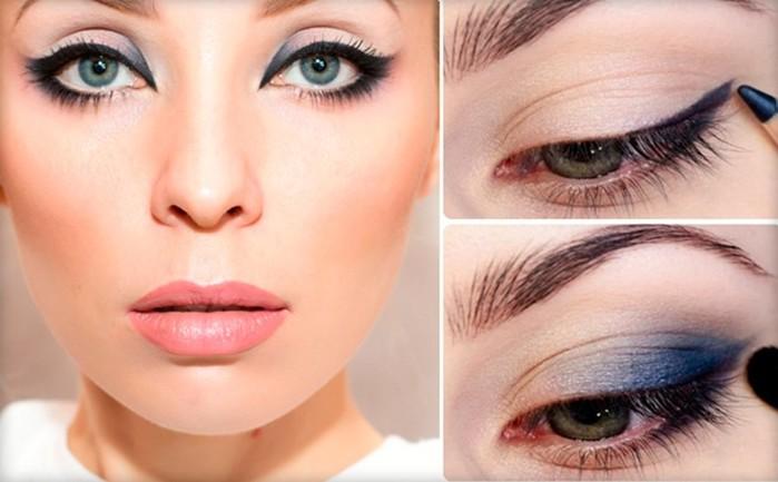 Макияж для серых глаз: основные правила и советы