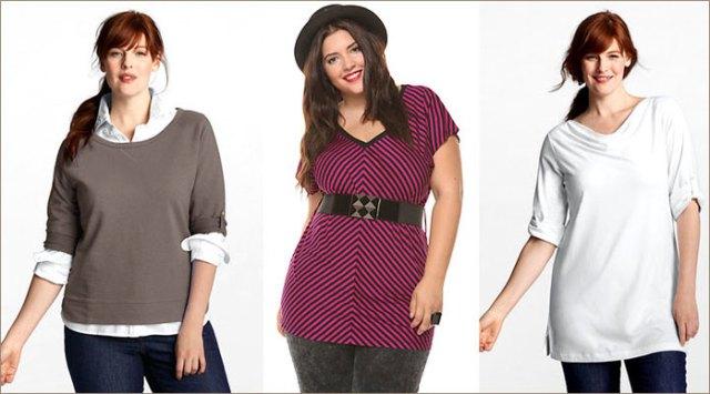 Советы, как правильно подобрать одежду полным женщинам