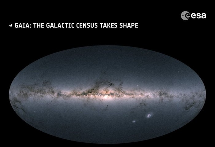 Представлена самая подробная звездная карта Млечного Пути