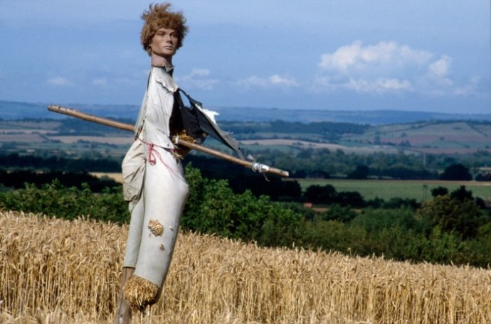 Пугала: страшные фотографии из сельской местности Англии