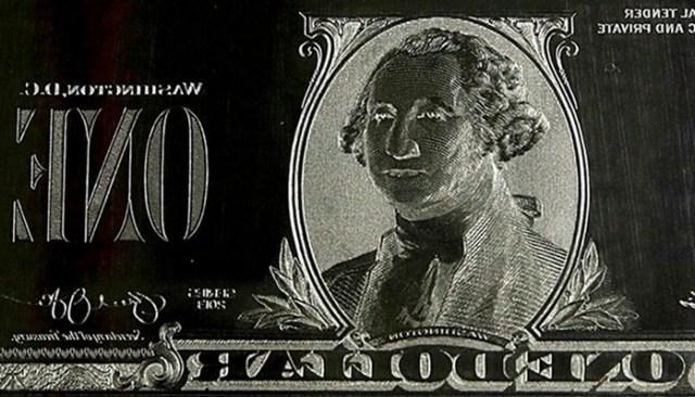 Как печатают американские доллары в Бюро США Гравировки и Печати в Вашингтоне