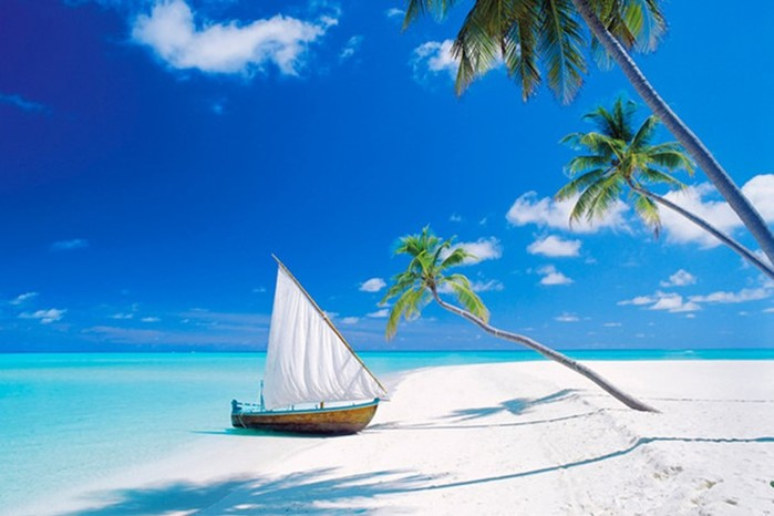 Самые красивые острова и отели Мальдив