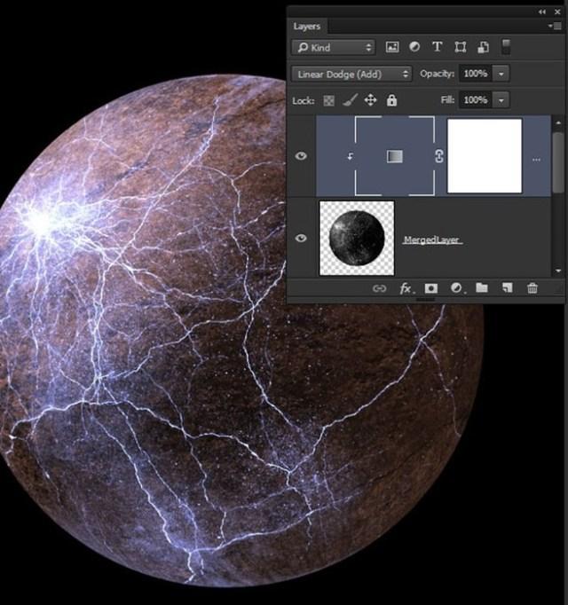 Урок Photoshop: создание взрывающейся планеты