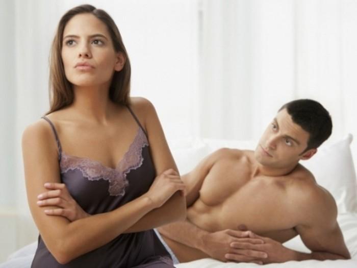 Секс на женщине на ночь