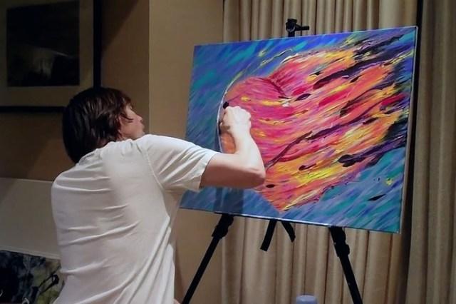 Оказывается, актер Джим Керри – талантливый художник!