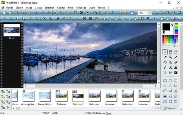 Графический редактор PhotoFiltre   бесплатный, удобный, быстрый, со множеством инструментов