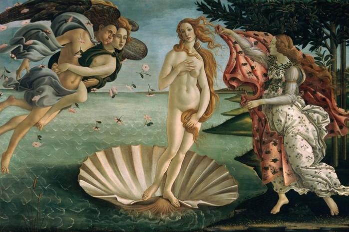 Мужчины и богиня любви: 4 самых известных изображения Венеры в искусстве