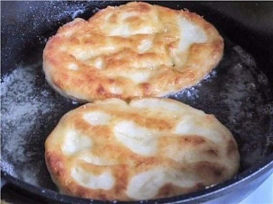 Картофельные пышки, тающие во рту