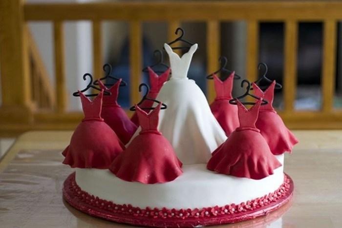 Лучшие свадебные торты (фотографии)