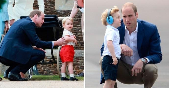 Маленький, но очень важный секрет в воспитании ребенка, которому нас научил принц Уильям