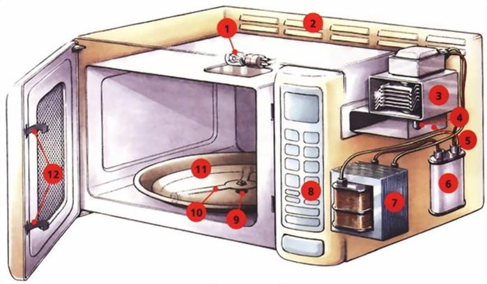 Как работает разморозка в микроволновке