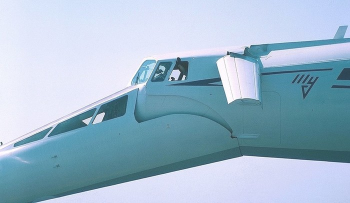 Реактивный пассажирский самолет Ту 144 называли главных «чудом советского авиастроения»