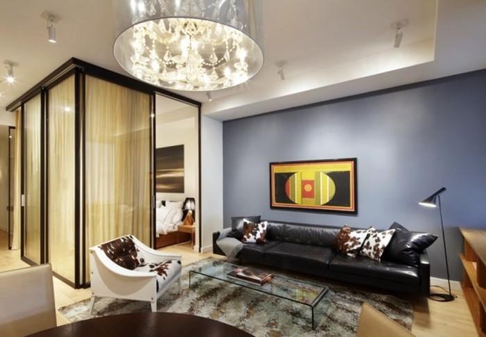 15 практичных идей, как правильно совместить спальню с гостиной в маленькой квартире